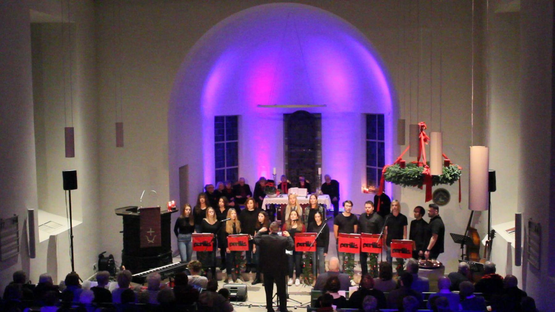 Jugendchor 2018 in der Borgfelder Kirche